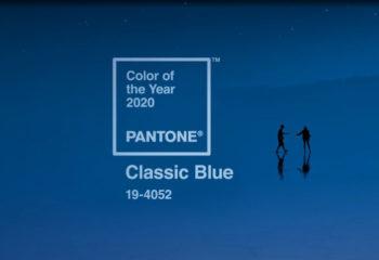 Classic Blue será a cor do ano em 2020
