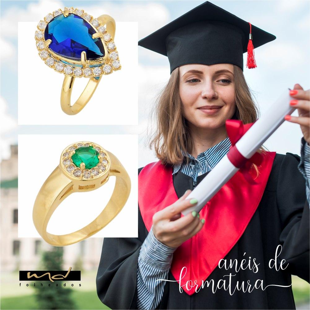 Saiba mais sobre Anéis de Formatura
