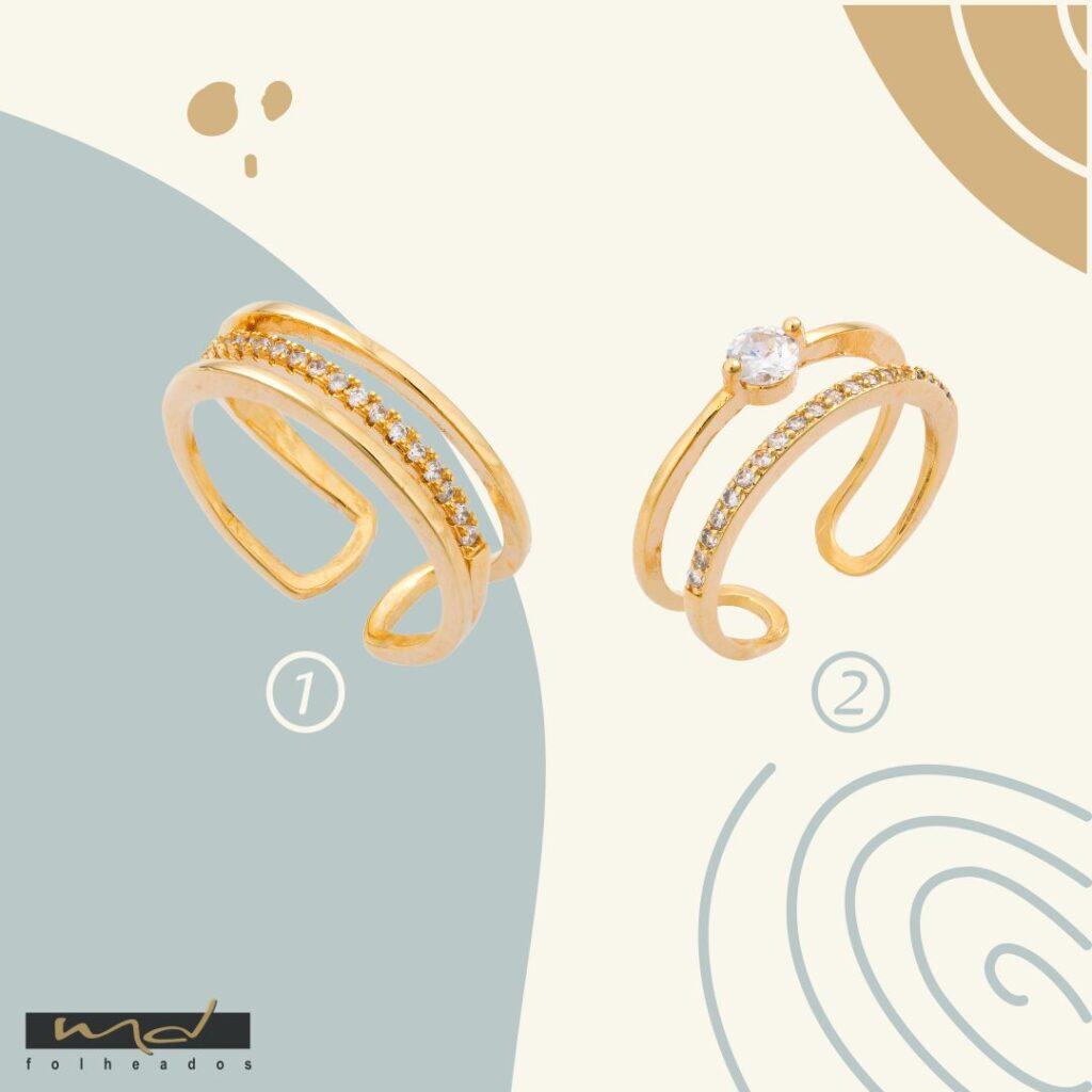 Como fazer lindas composições com anéis?